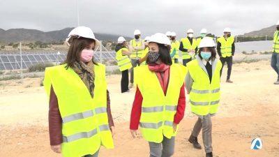 Xixona dispone ya de la mayor planta fotovoltaica de la Comunitat