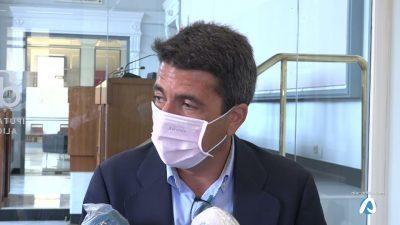 Mazón pide a Puig que se sume a Murcia y Andalucía en la defensa del trasvase