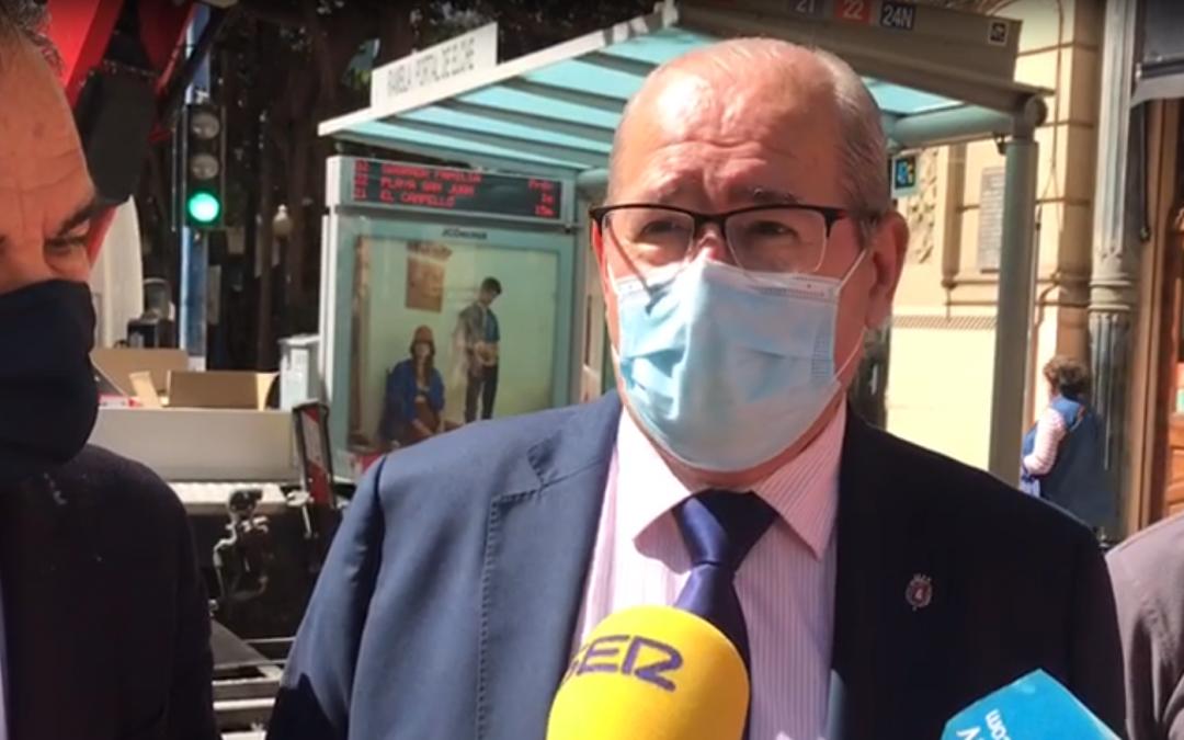González critica al Consell por la falta de inversión en vivienda pública en Alicante