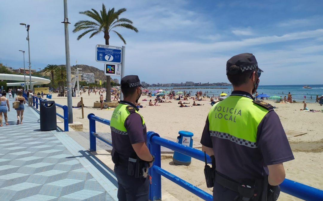 Aumenta el cumplimiento a las medidas covid en Alicante