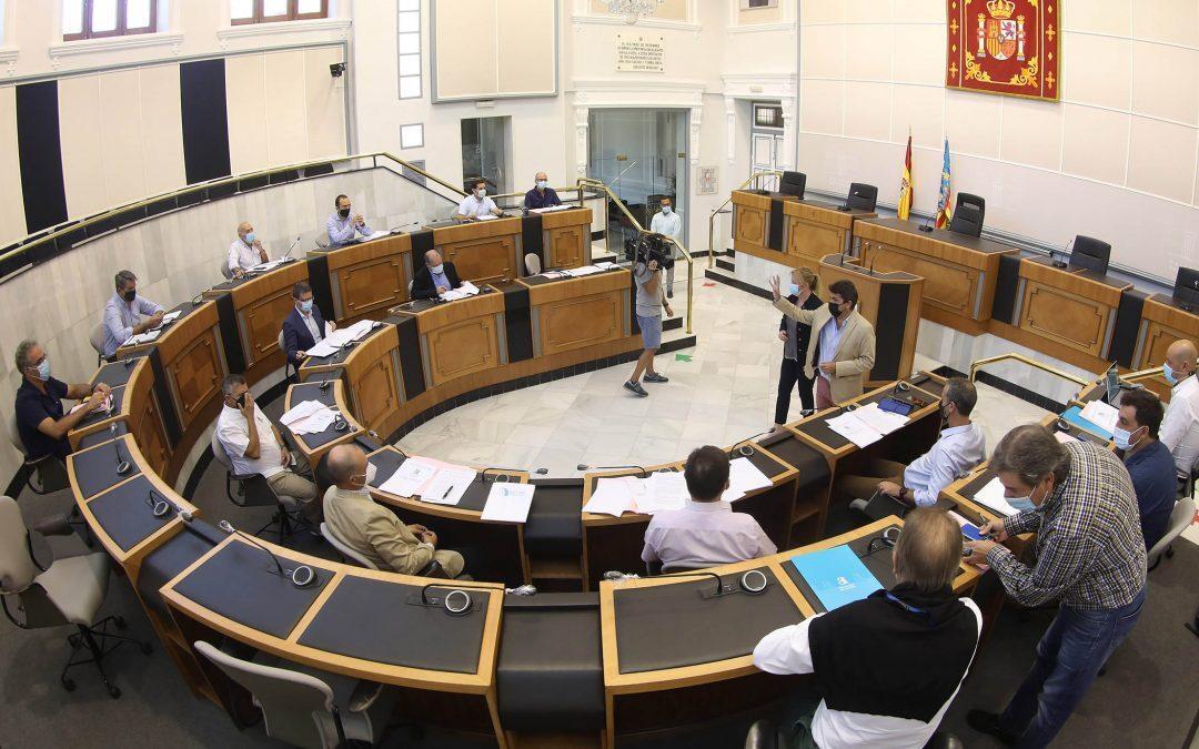Diputación convoca la mesa técnica de la Comisión del Agua