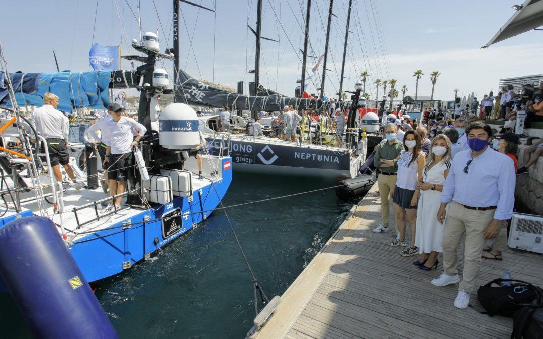 Alicante se despide de la Ocean Race hasta el próximo año
