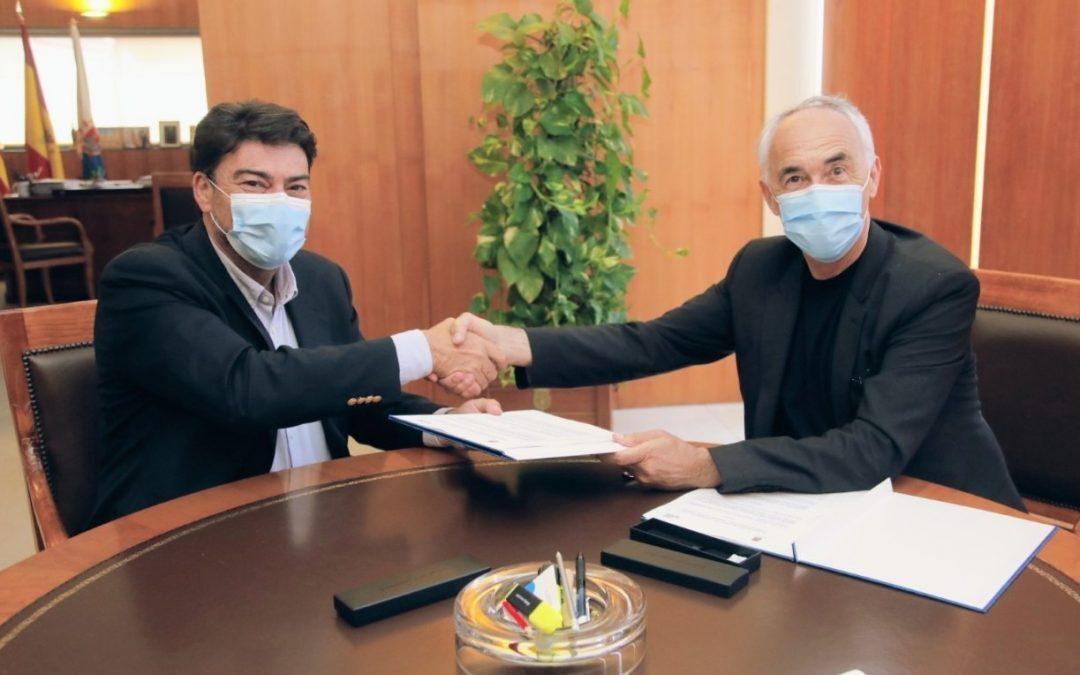 Alianza en política urbana entre Alicante y la Fundación Metrópoli