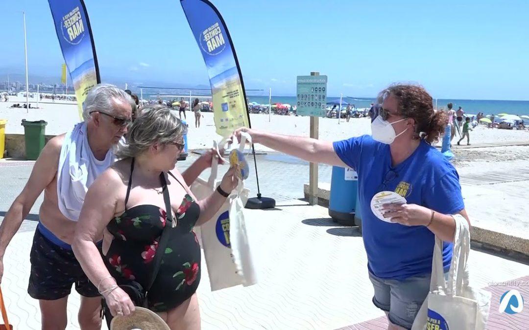 El Campello conciencia a  vecinos y turistas sobre el reciclaje