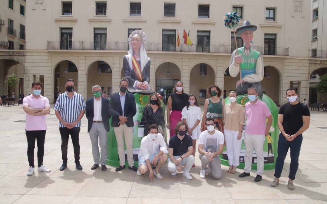 """""""La plantà» de Ecovidrio reaviva las Hogueras"""