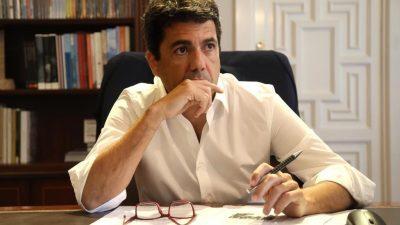 Mazón: «Sánchez lleva a la provincia a ser el desierto de Europa»