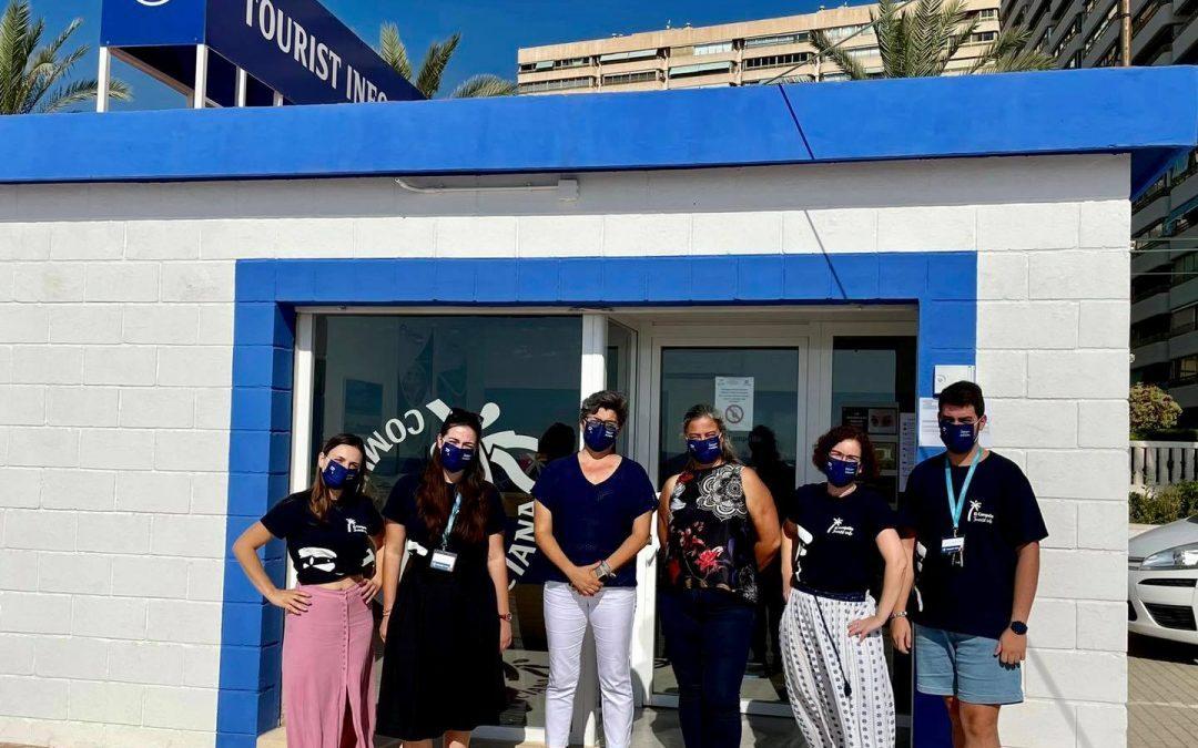 La Oficina de turismo de Muchavista abre temporada con tres informadores