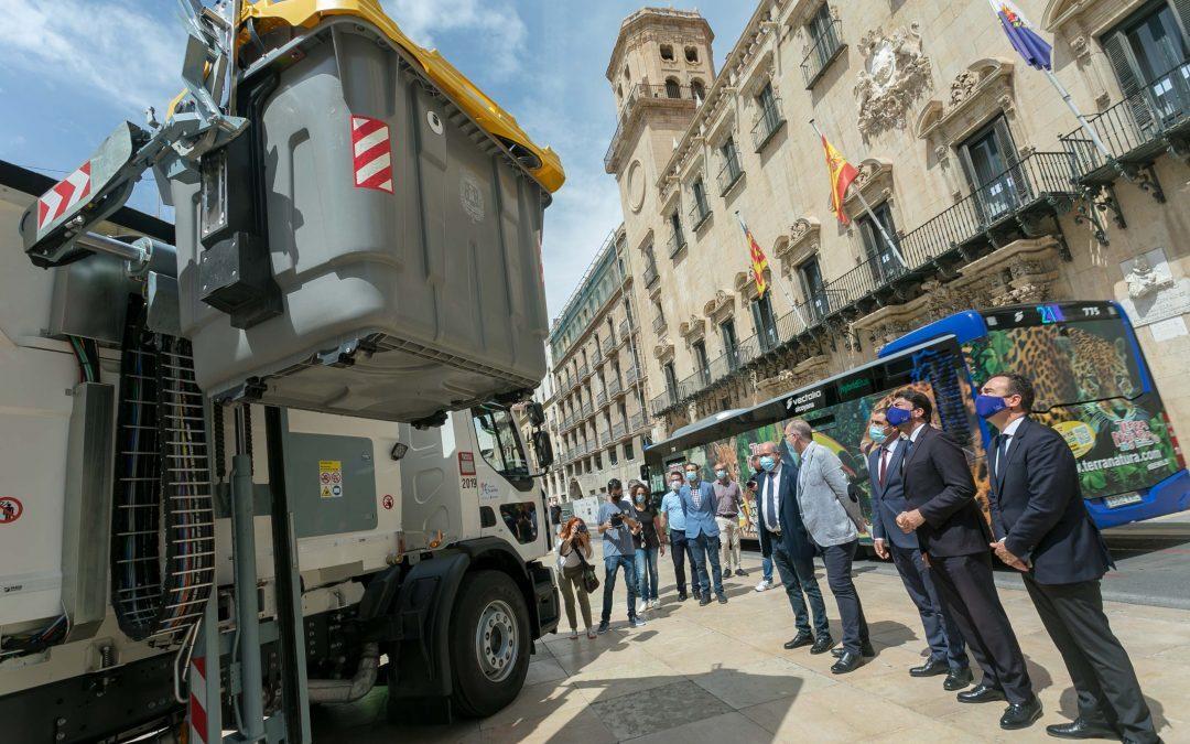 Alicante dispara sus cifras en la recogida selectiva de envases