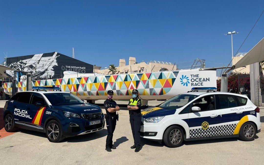 Blindaje espectacular en Alicante para The Ocean Race Europe