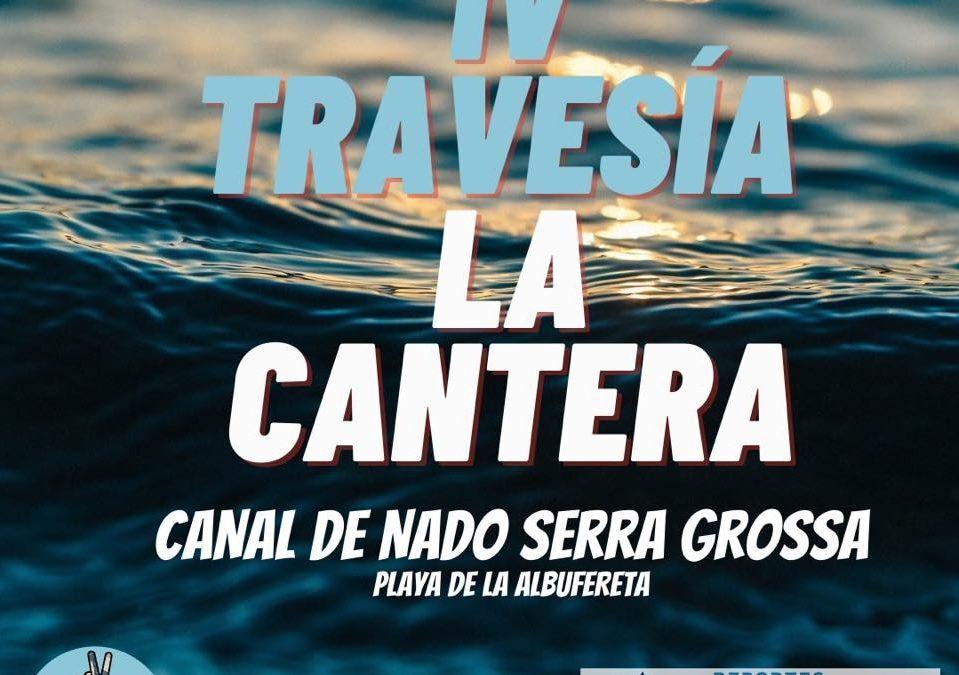 Alicante acoge la 'IV Travesía La Cantera' en el canal a nado más largo de España