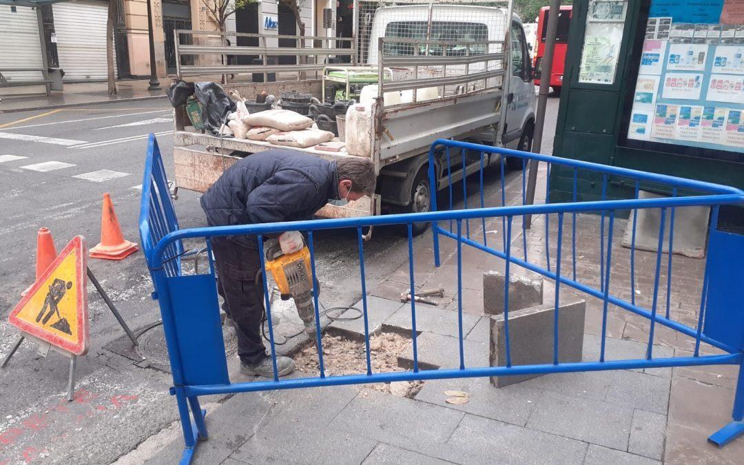 Más de 4 millones para reparar aceras, plazas y espacios de Alicante