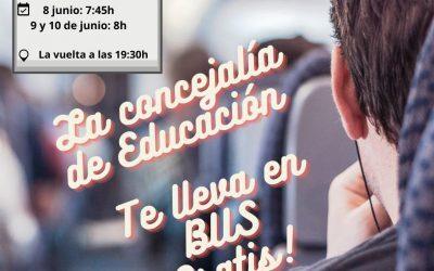 El Campello organiza viajes gratuitos para los estudiantes de la PAU