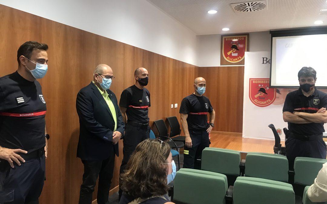 Los bomberos alertan de la necesidad de detectores de humo