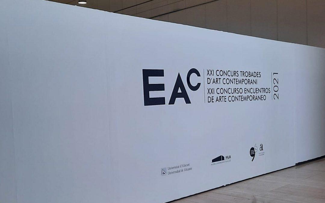 Pablo Bellot gana el Concurso Encuentros de Arte Contemporáneo 2021