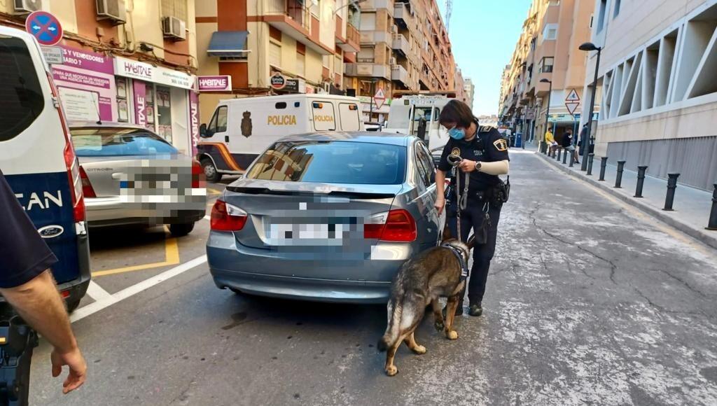 Detenido tras una persecución por El Campello