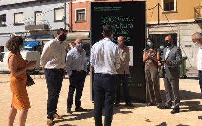 La Diputación impulsa la exposición itinerante '3.000 años de cultura del vino en Alicante'