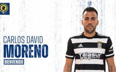 El Hércules firma al central extremeño Carlos David Moreno
