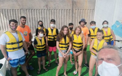 Comienzan las clases de náutica para jóvenes en El Campello