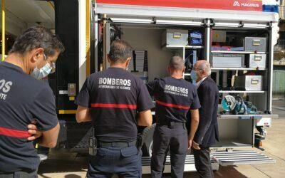 Alicante prepara la mayor inversión para mejorar la labor de los bomberos