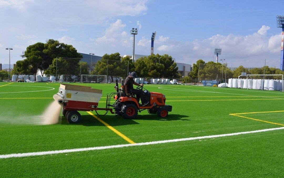 Infraestructuras invertirá un millón de euros en la mejora de instalaciones deportivas