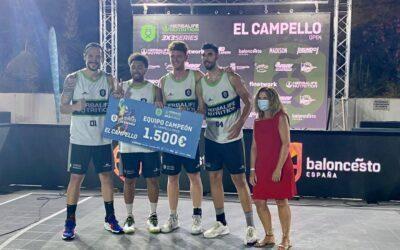 La  Federación piensa en El Campello para nuevas ediciones del 3×3 de baloncesto