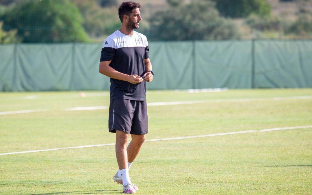 Mora, satisfecho del rendimiento del Hércules en su primer amistoso
