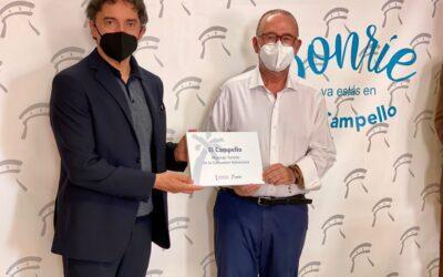 """El Campello recibe de forma oficial el distintivo de """"Municipio Turístico"""""""