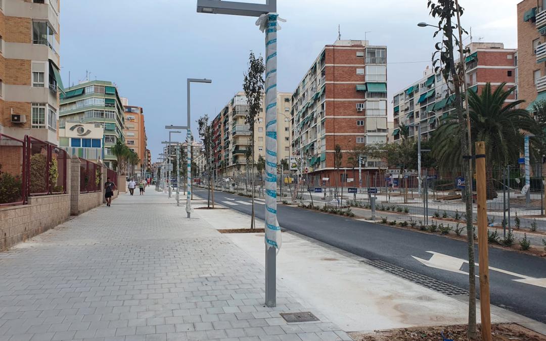 Urbanismo abre parcialmente al tráfico rodado la avenida Padre Esplá