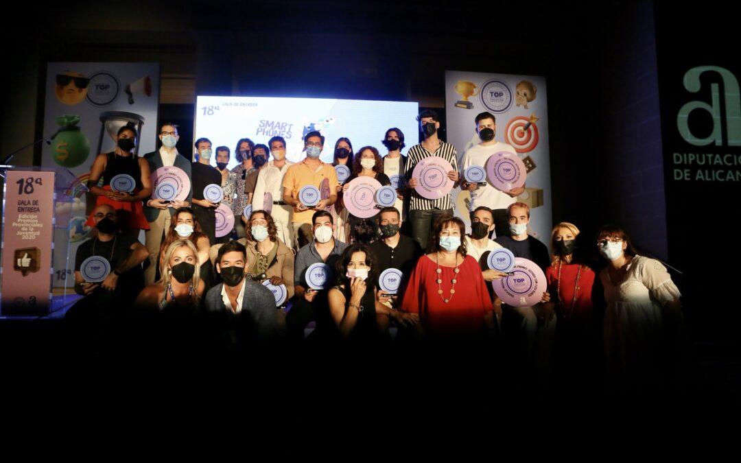 Los Premios #TopCreation2020  reconocen el talento y la creatividad de los jóvenes