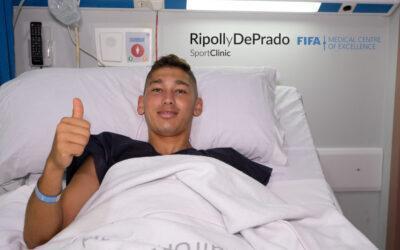 Martín Bellotti estará ocho meses de baja tras sufrir una grave lesión en su rodilla