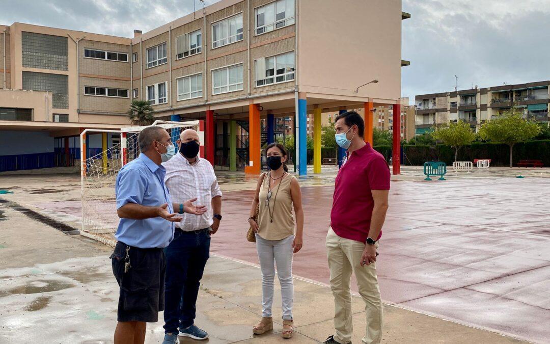 Reformas en los colegios y entrega de mascarillas en El Campello