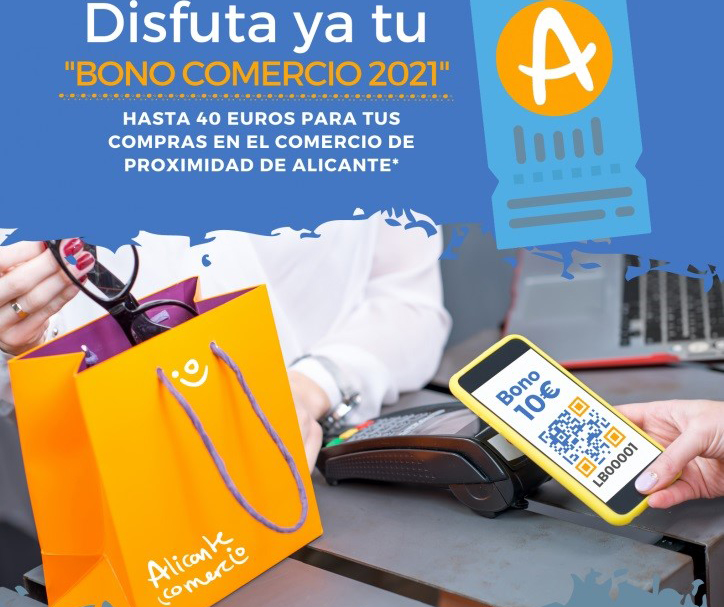 Alicante anima a utilizar los Bonos Comercio en la vuelta al cole