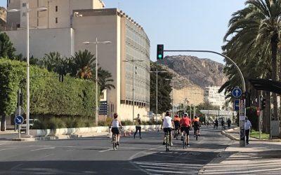 Alicante conmemora la Semana Europea de la Movilidad con su clásica Ciclovía