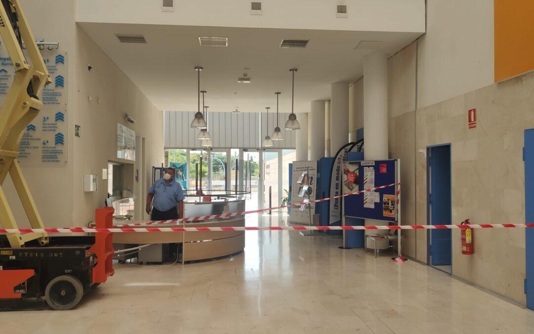 El Centre Social 'El Barranquet' recibe obras de renovación en su cubierta