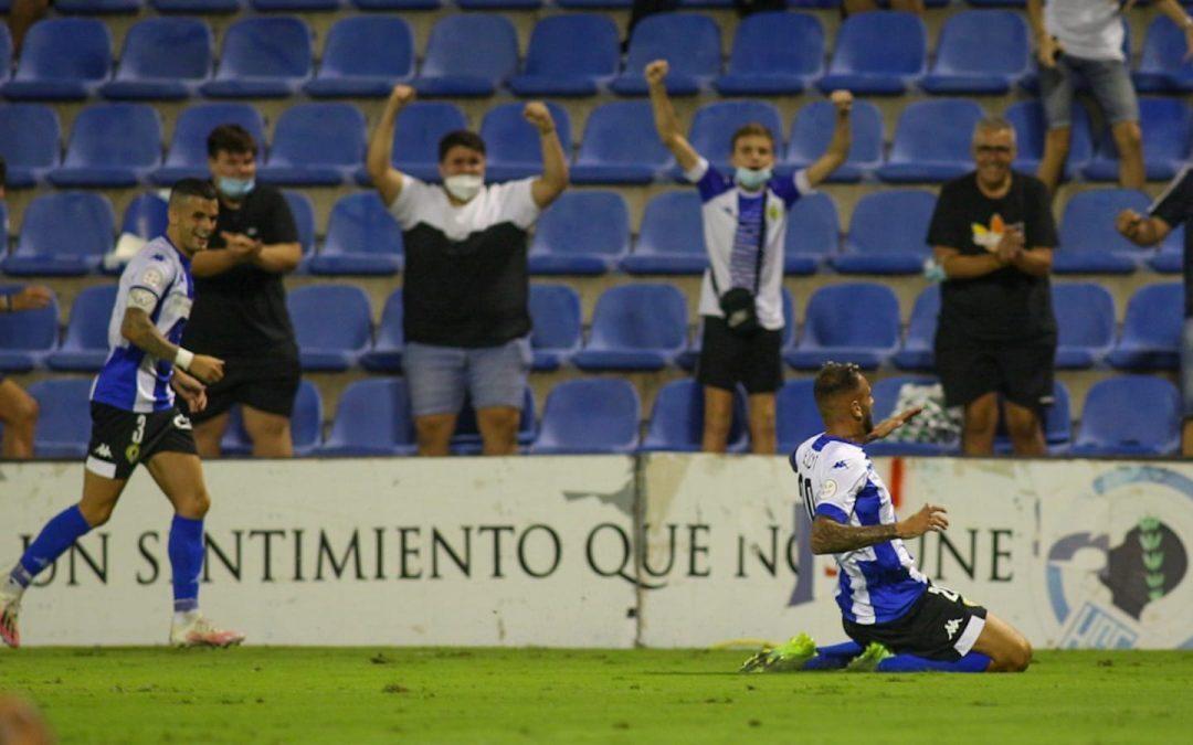 Un gol de Elliot en el último minuto da la victoria al Hércules ante el Mar Menor (2-1)