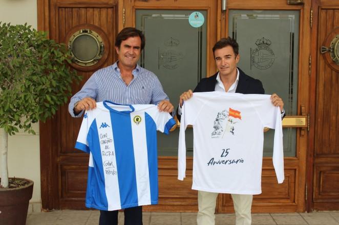 El Real Club de Regatas de Alicante y el Hércules CF firman un convenio en beneficio de la ciudad