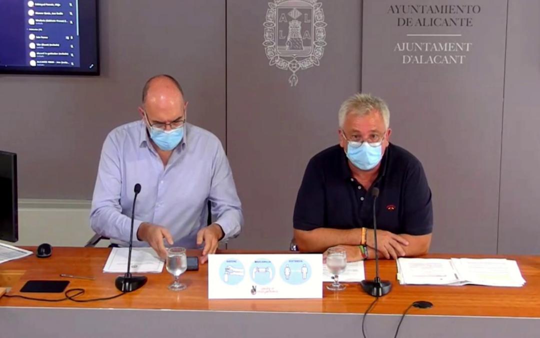 Alicante destina 6,2 millones de euros para licitar cinco proyectos de mejora urbana