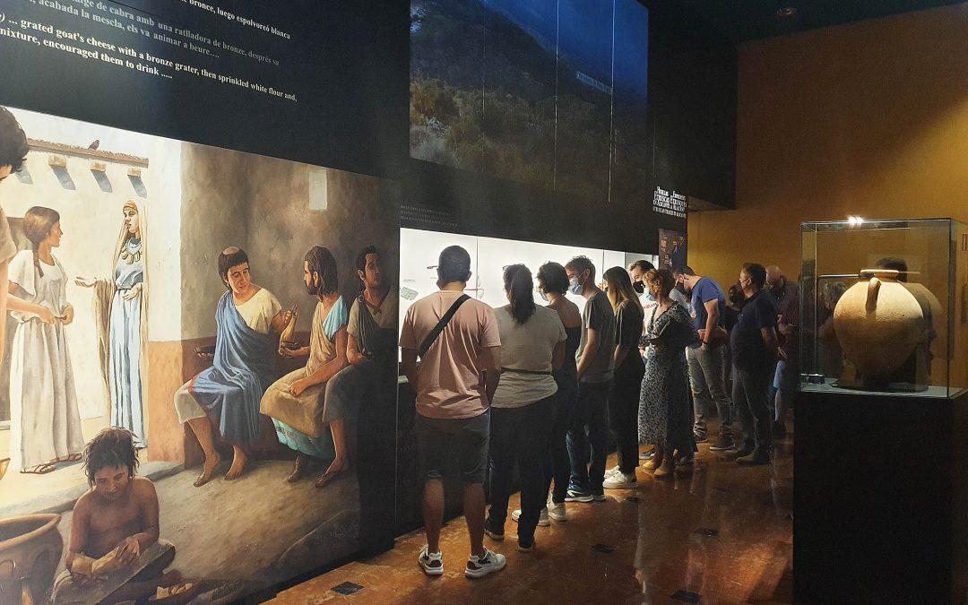El MARQ recupera cifras anteriores a la pandemia con más de dos mil visitantes a 'Etruscos'
