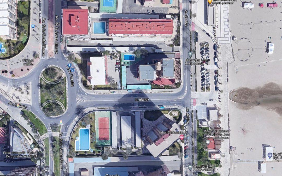 Alicante ultima un plan de reurbanización  para la playa de San Juan