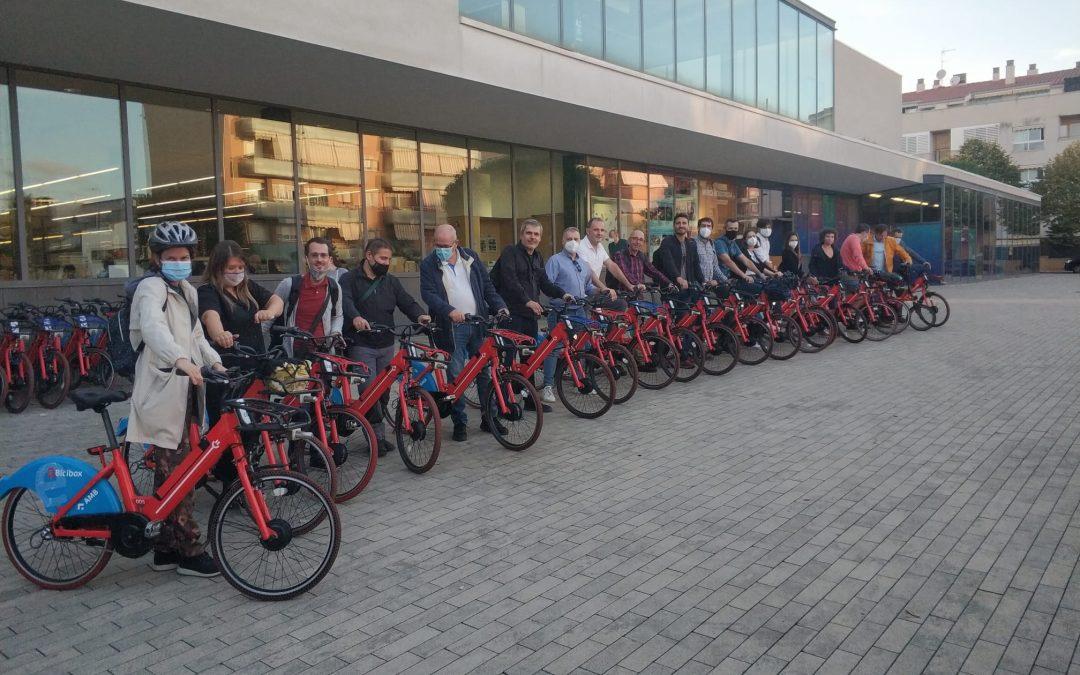 Alicante participa en la Feria CicloBCN21 y estudia mejoras en movilidad sostenible