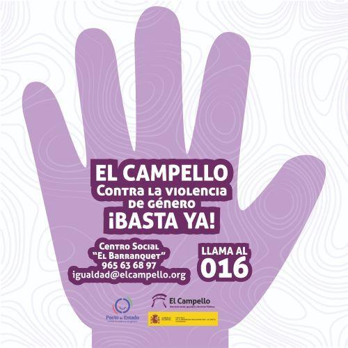 El Campello persevera en su lucha contra la violencia de género en el municipio