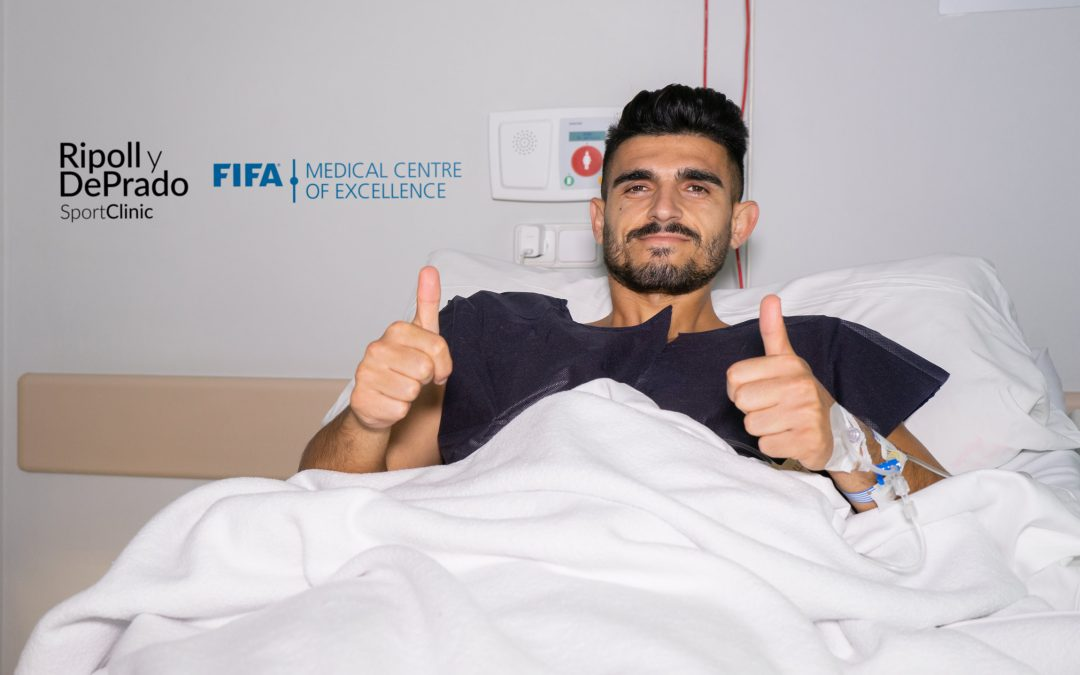 Toscano estará ocho meses de baja tras ser operado por Ripoll de una grave lesión en la rodilla