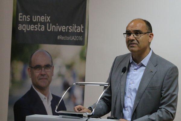 El ex rector de la UA, Manuel Palomar, presidirá la comisión del Centenario del Hércules